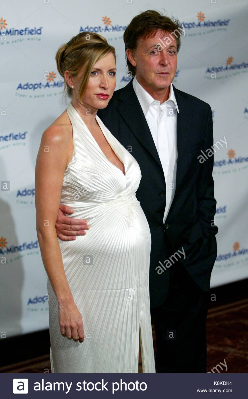 Heather Mills And Paul McCartney Music Recording Artist Goodwill Ambassador Sir His Wife At The Third Annual