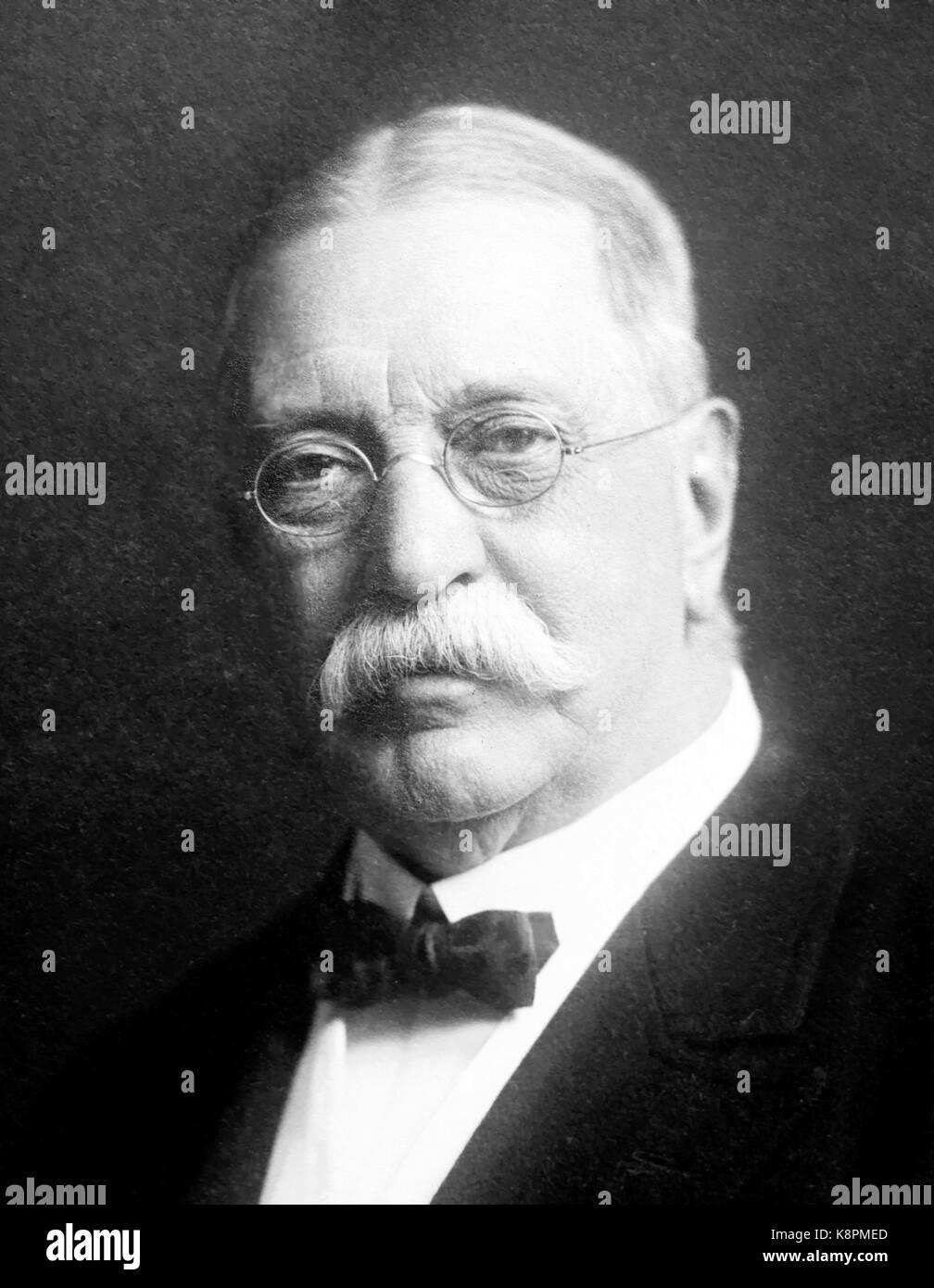 AUSTIN FLINT (1836-1915) American physician - Stock Image
