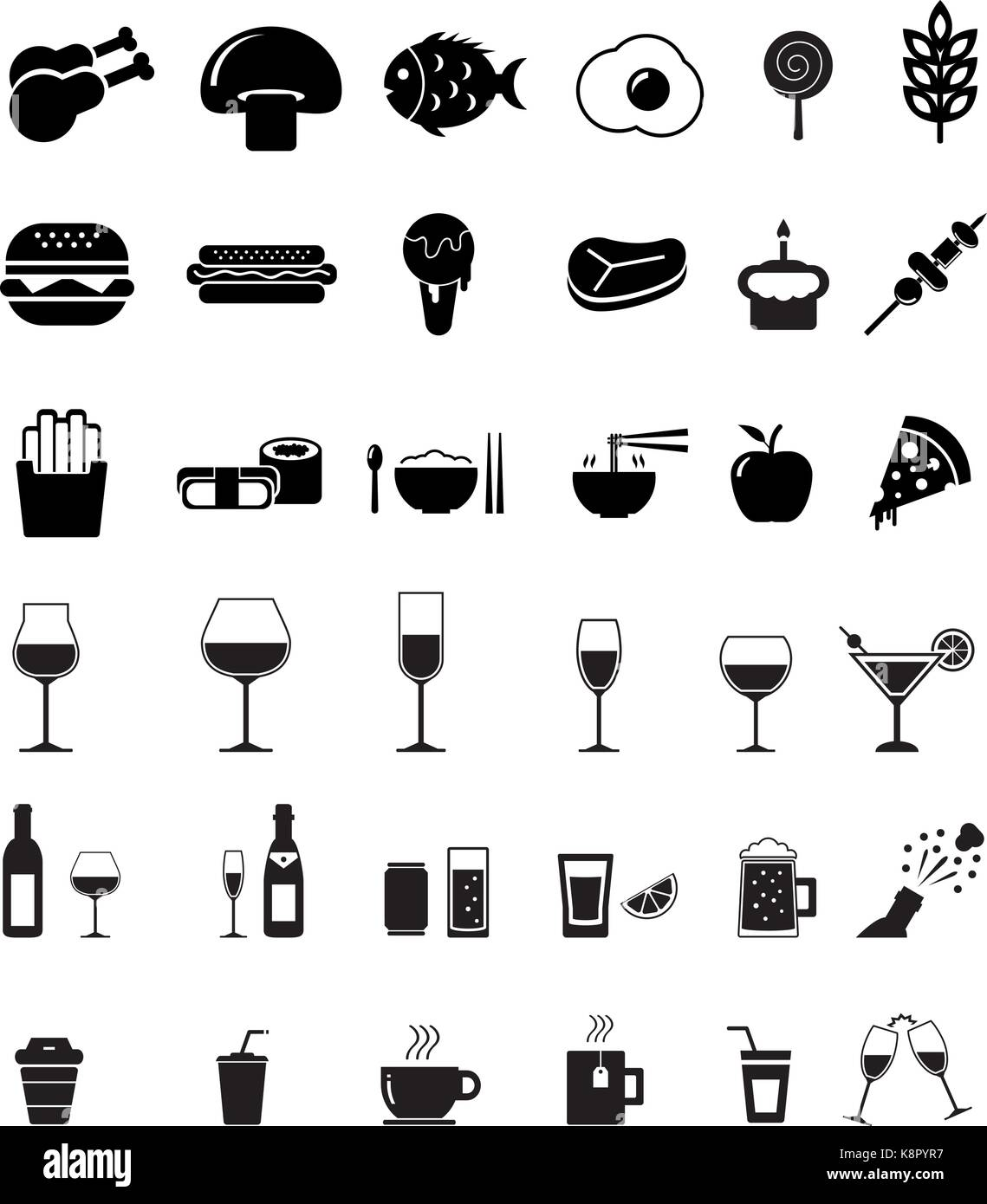 Food and drink icon - Stock Vector
