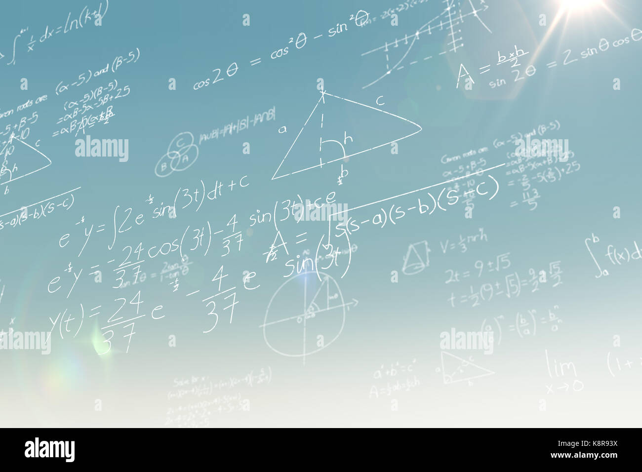 Blackboard Maths Equations Stock Photos & Blackboard Maths Equations ...