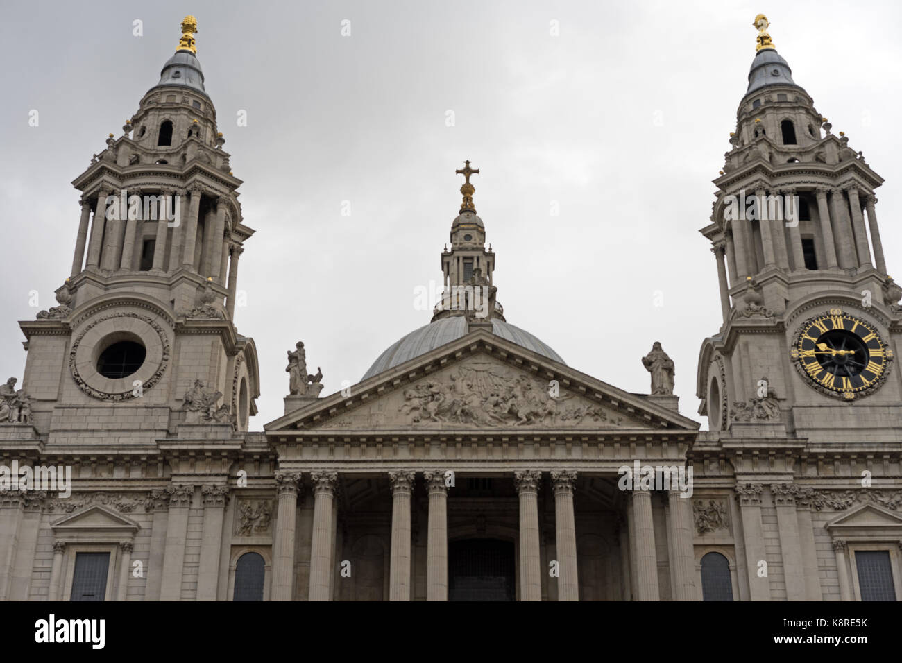 St Paul's Cathedral - Stock Image