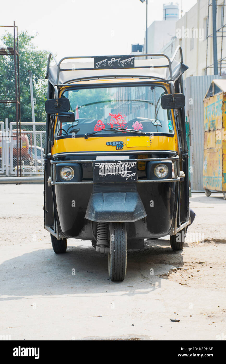 Rubbish cars we love auto rickshaw  you dont see many in london new picture