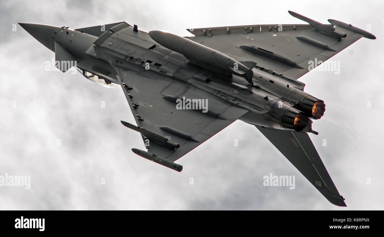 RAF Eurofighter Typhoon - Stock Image