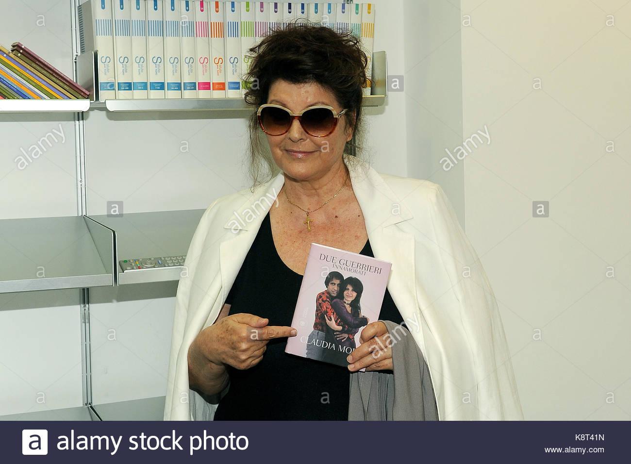 Claudia Mori. Claudia Mori at last day of  La Milanesiana 2014, presents his book' Due guerrieri innamorati', - Stock Image