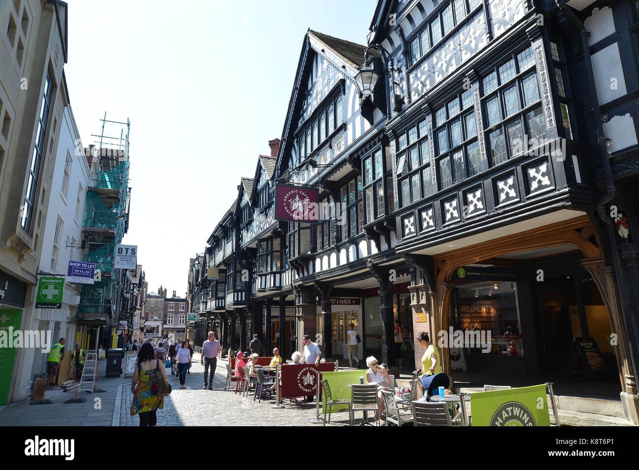 Photographs around Chester city centre - Stock Image