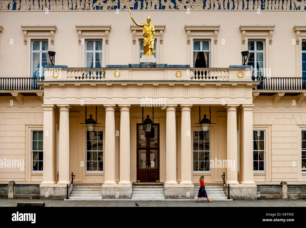 The Athenaeum Club, Pall Mall, London, UK - Stock Image