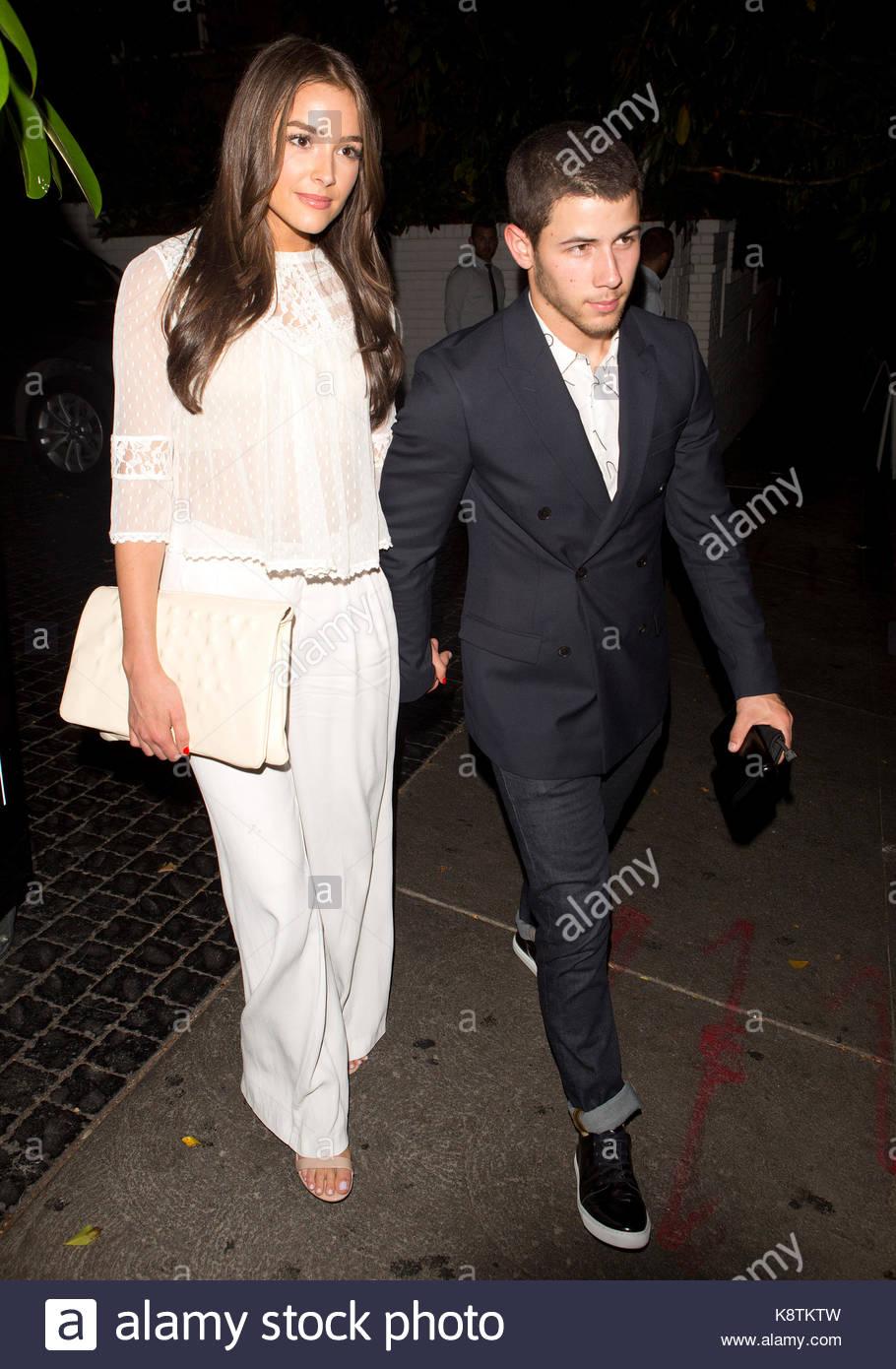 Nick Jonas And Olivia Culpo Miss Universe