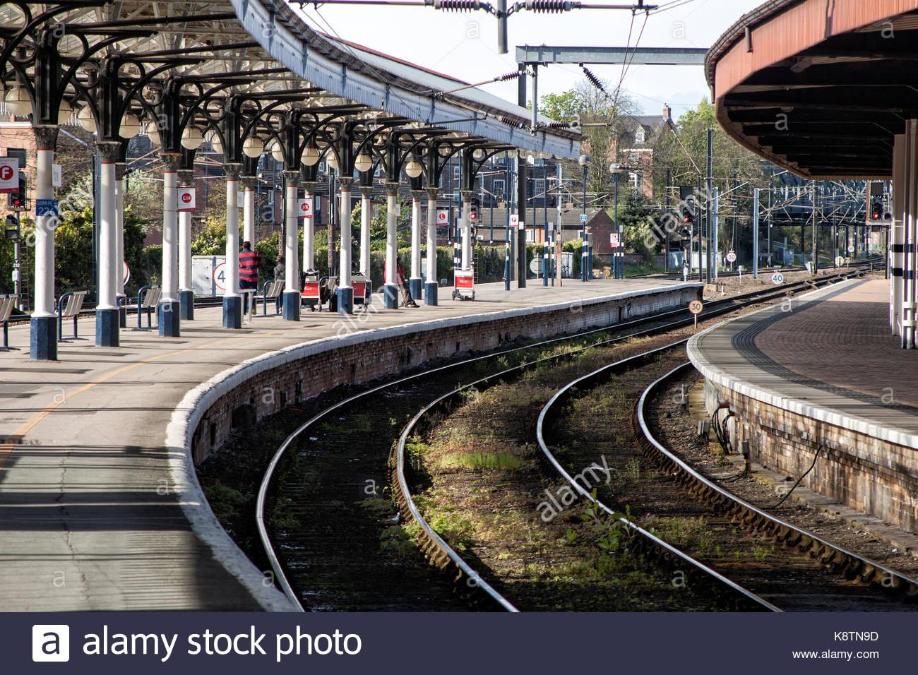 York Railway Station, York - Stock Image