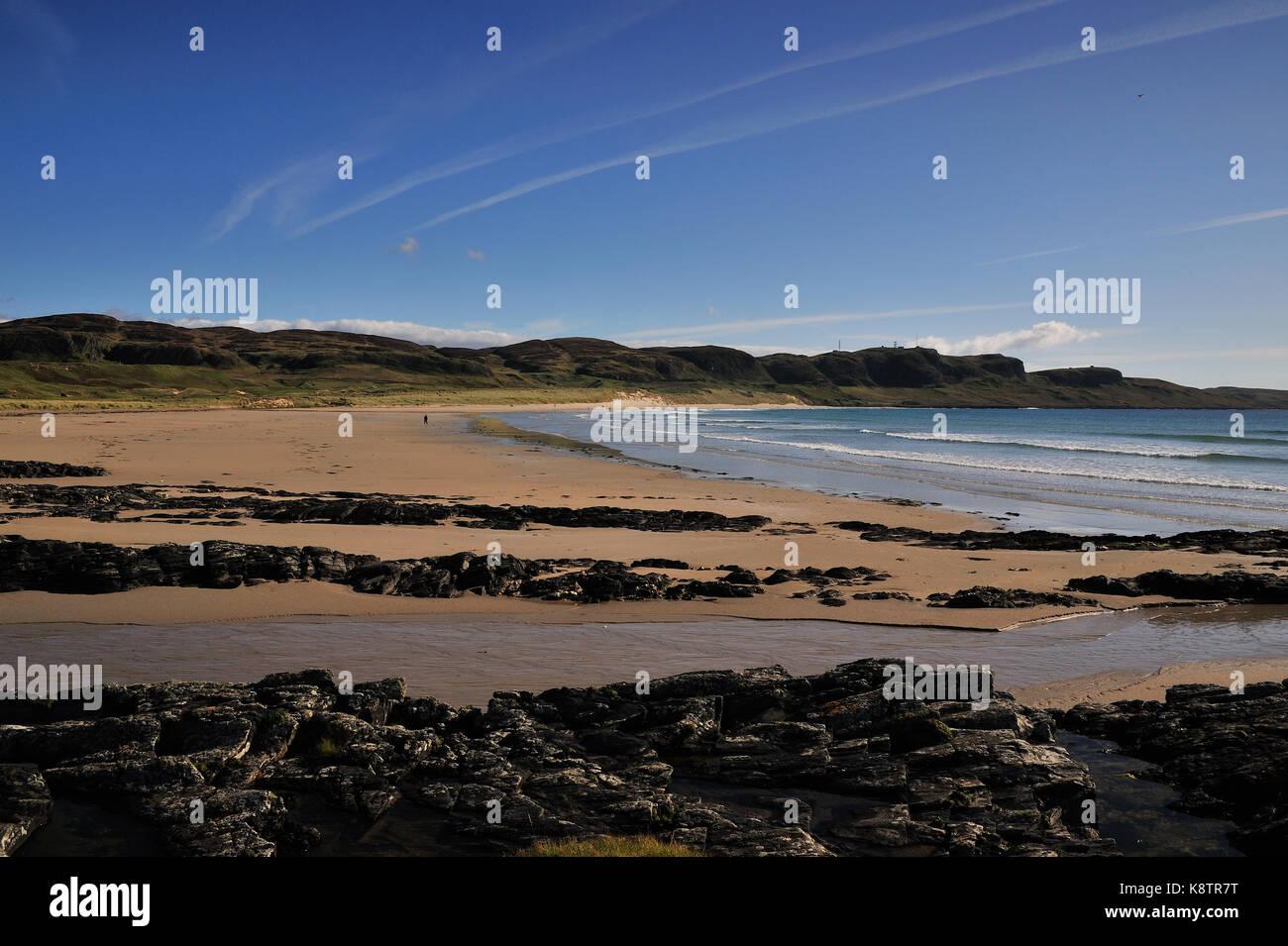 Machir Beach Islay Scotland - Stock Image