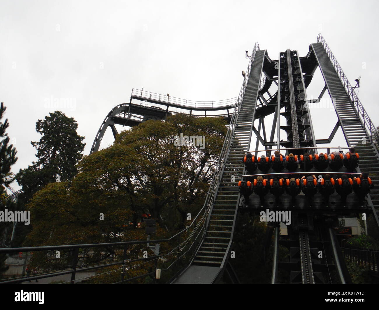 The Oblivion, Alton Towers - Stock Image