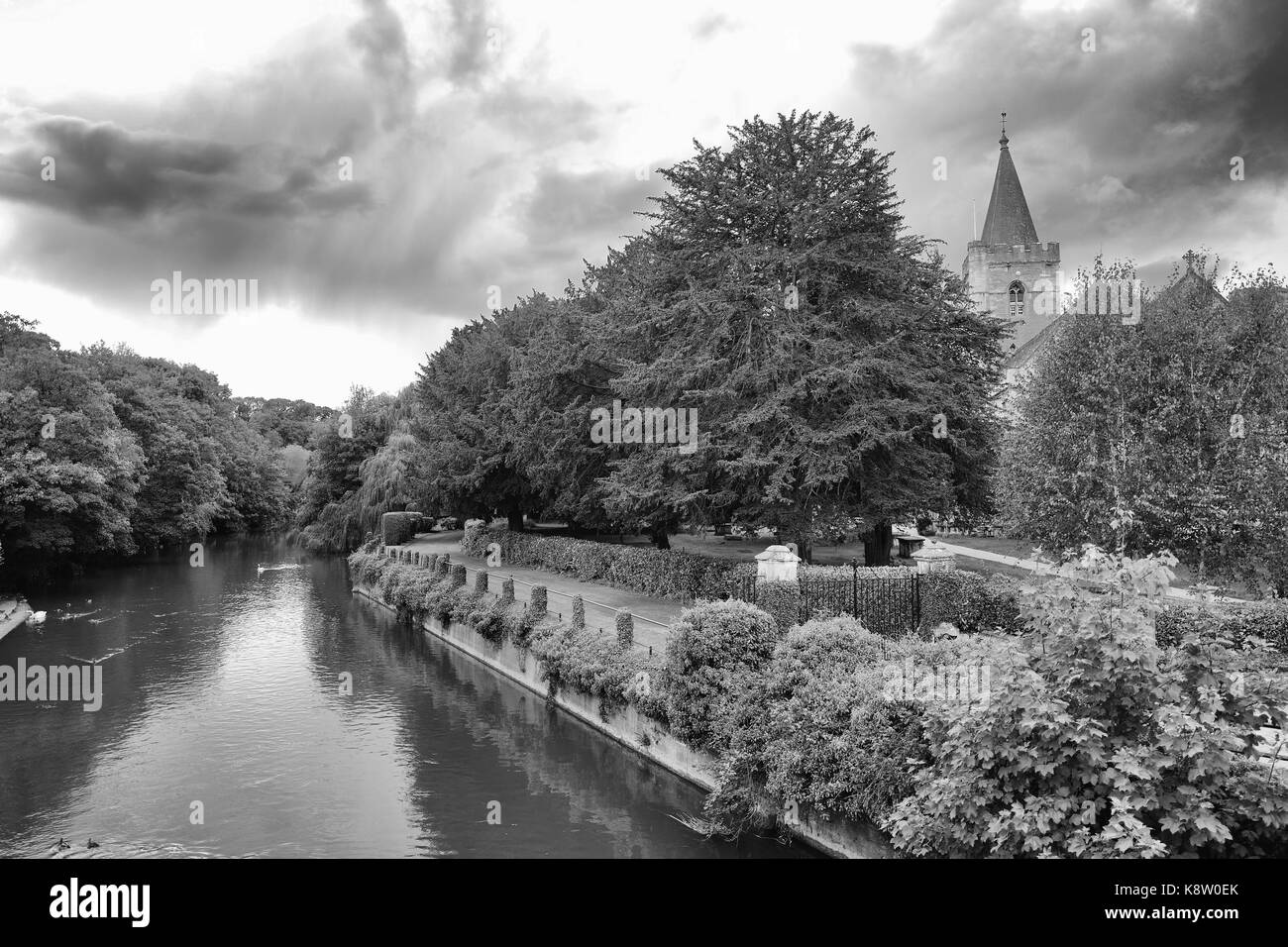 Bradford on Avon Holy Trinity Church - Stock Image