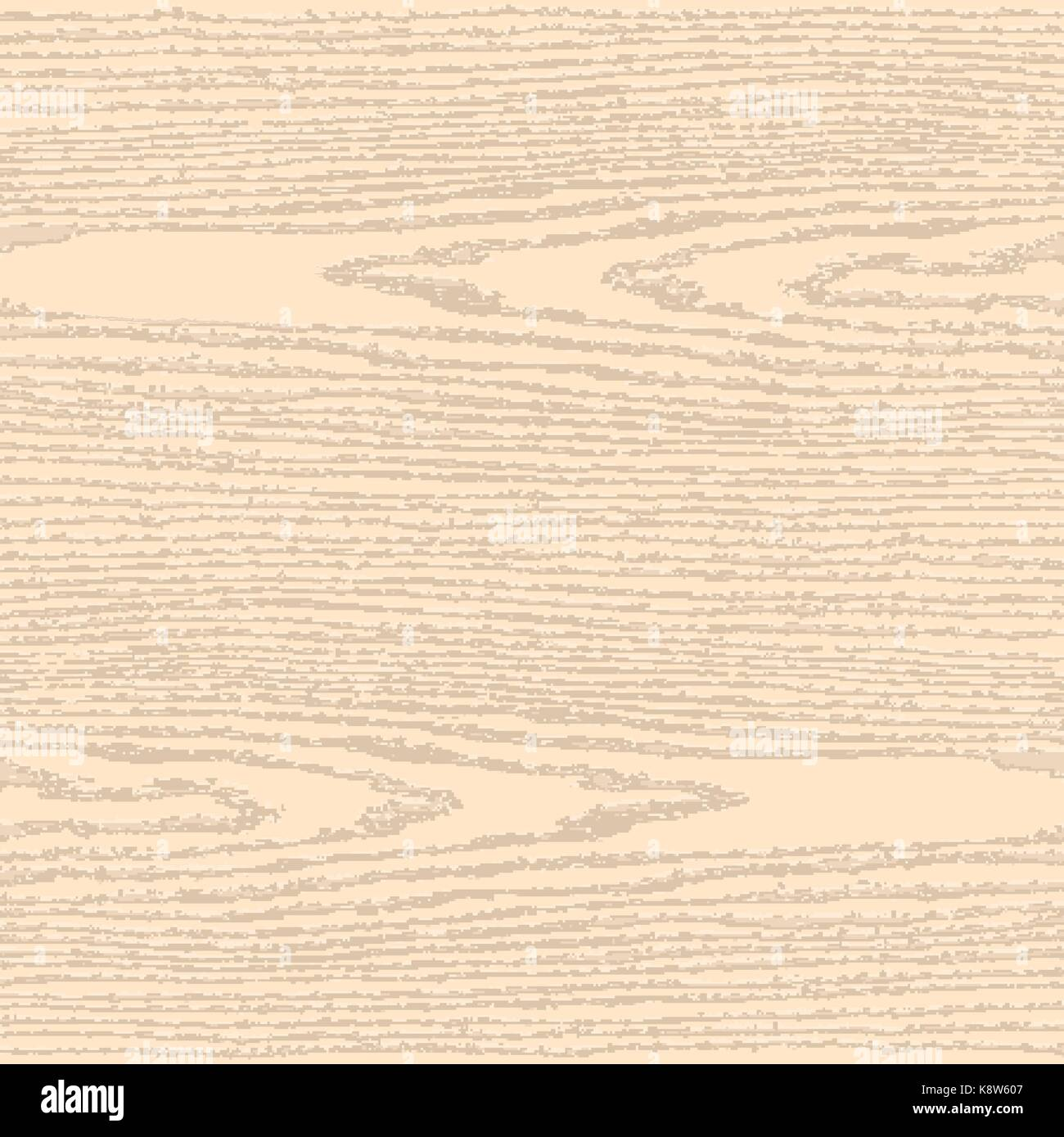 Colored wood texture background in square format. Blank natural pattern swatch template. Realistic plank with annual - Stock Image