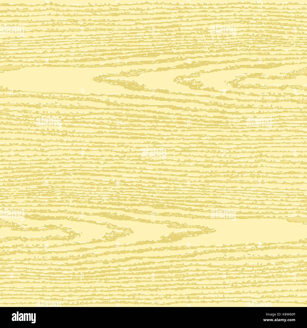 Light yellow wood texture background in square format. Blank natural pattern swatch template. Realistic plank with - Stock Image