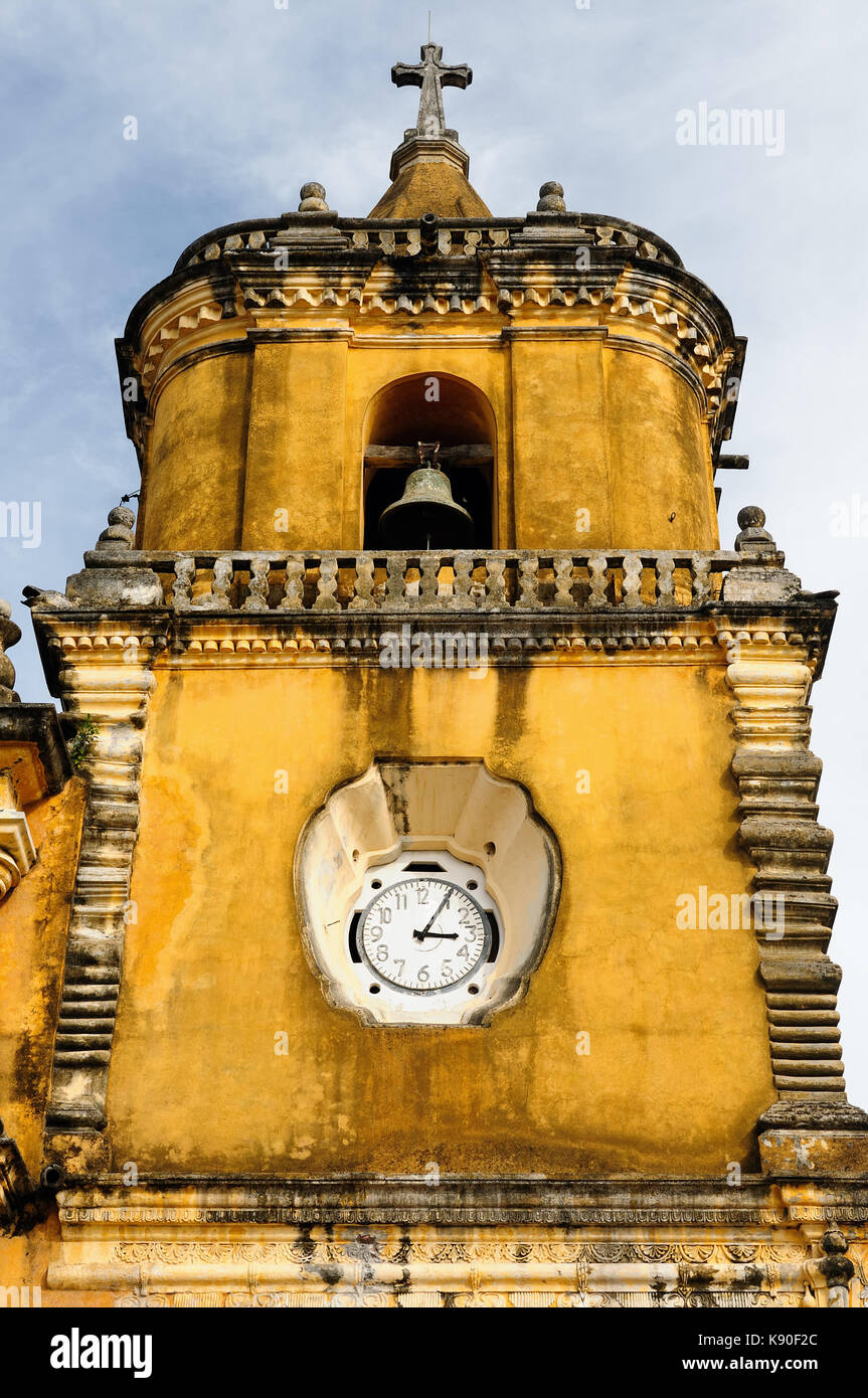 Central America, Leon - the colonial Spanish city in Nicaragua has the larges cathedral in Central America and the - Stock Image