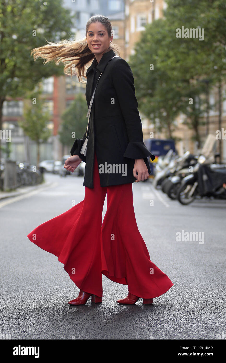 Street Style From Day One Of London Fashion Week Spring