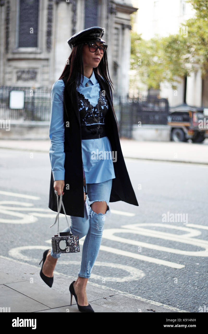 Street Style from Day one of London Fashion Week, Spring ...
