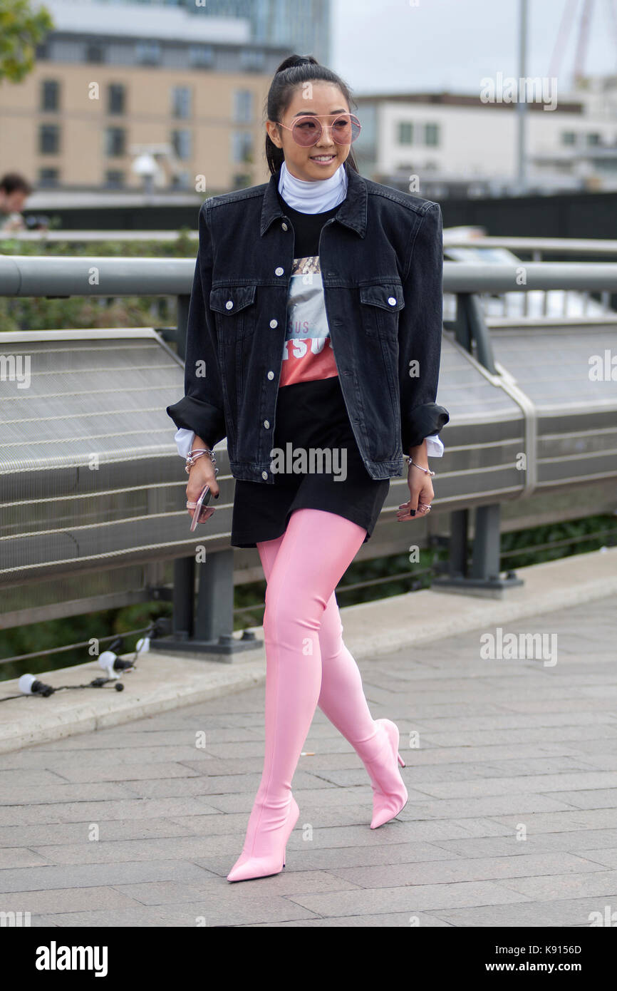 Street Style From Day Three Of London Fashion Week Spring
