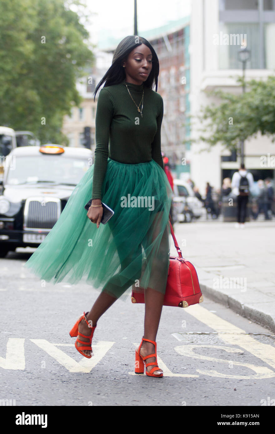 Street Style From Day Four Of London Fashion Week Spring
