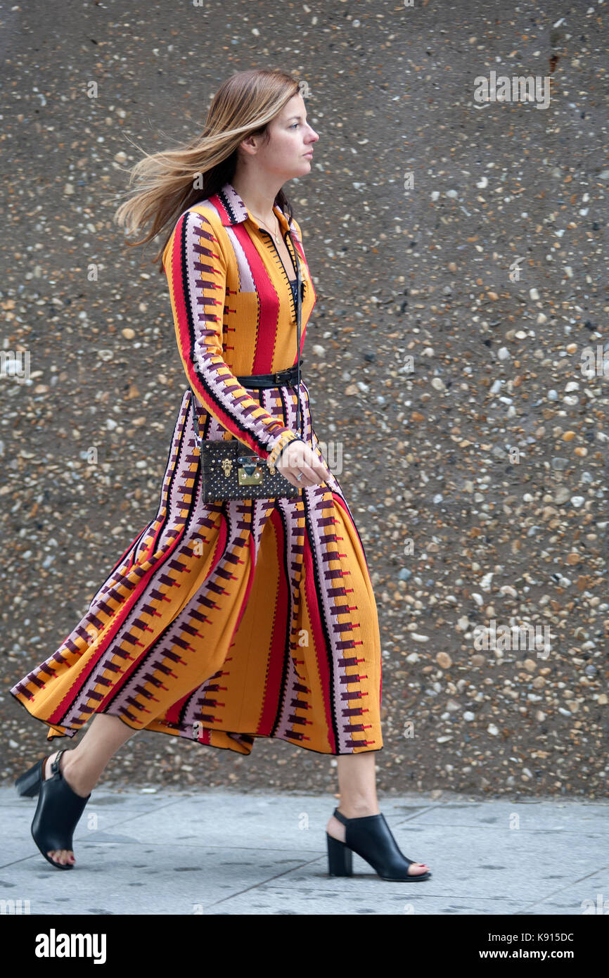 e6342b4205c Street Style from Day four of London Fashion Week, Spring Summer ...