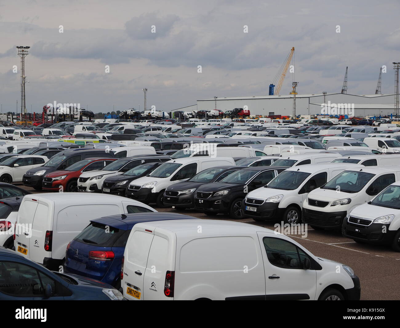 Volkswagen New Cars Stock Photos Amp Volkswagen New Cars