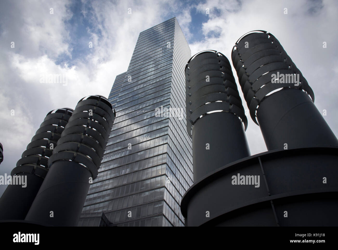 Urban regeneration at Media Park in Neustadt-Nord, Cologne, Germany. - Stock Image