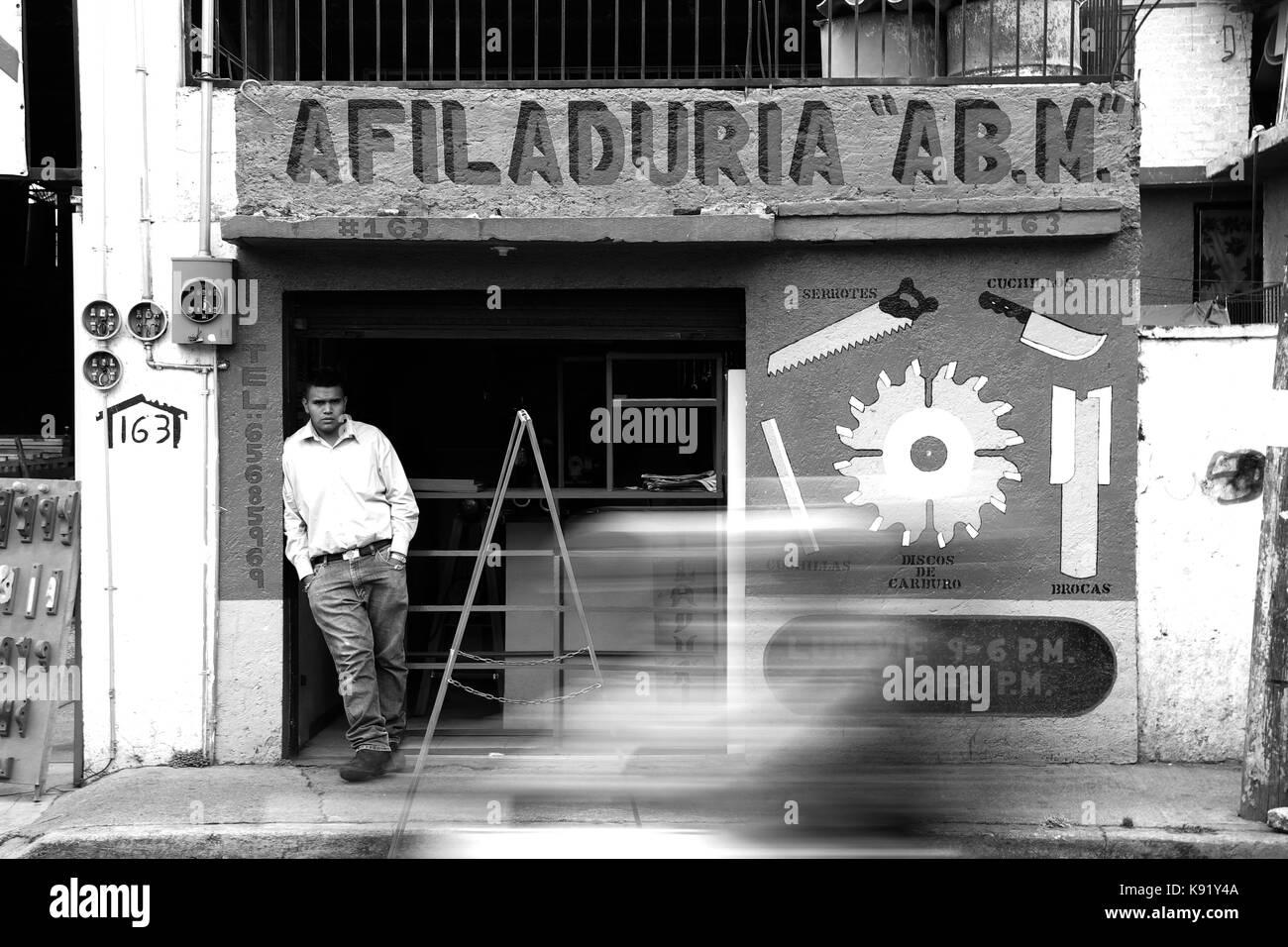 Xochimilco Mexico. - Stock Image