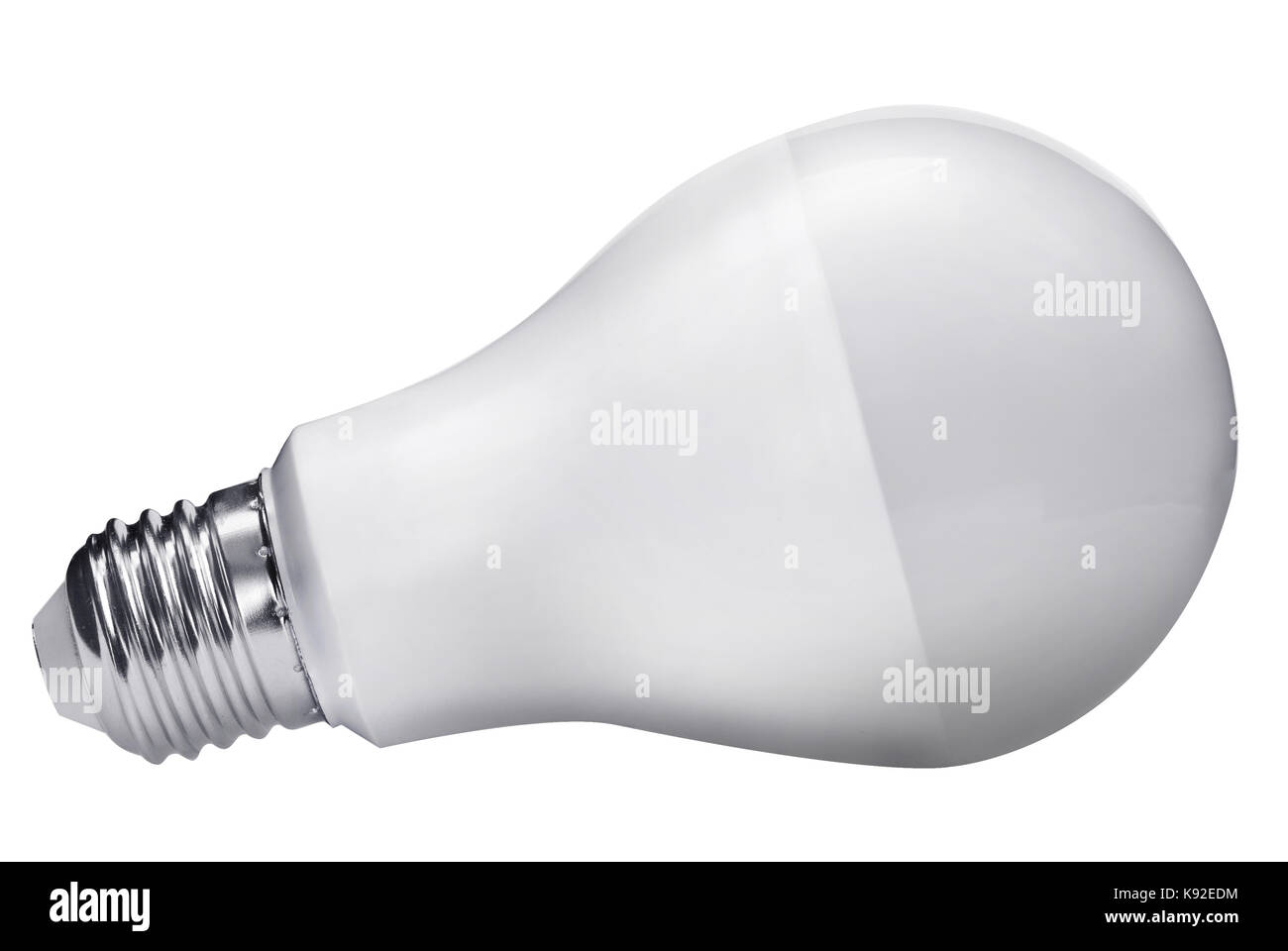 diode bulb isolated with clipping path - Stock Image