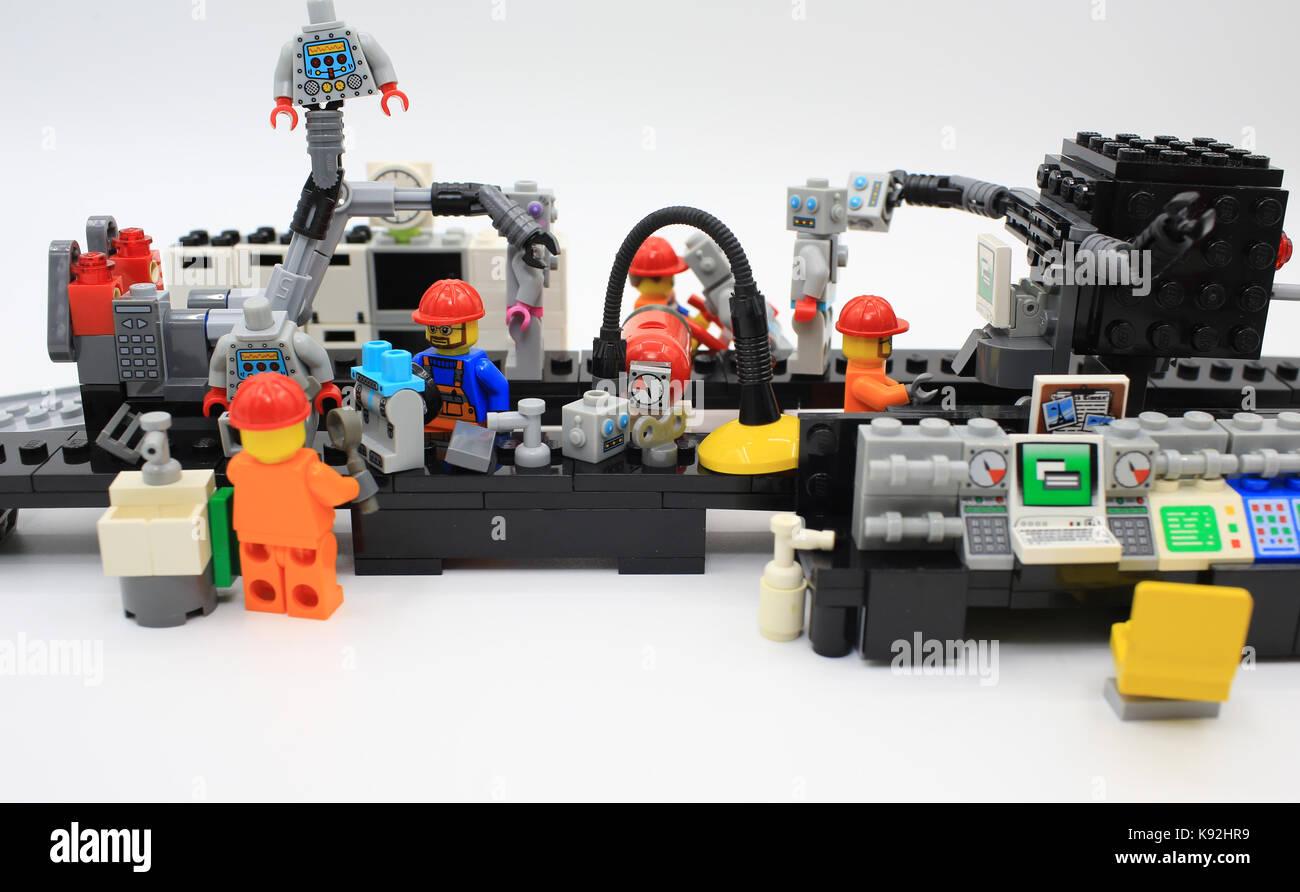 lego robot - Stock Image