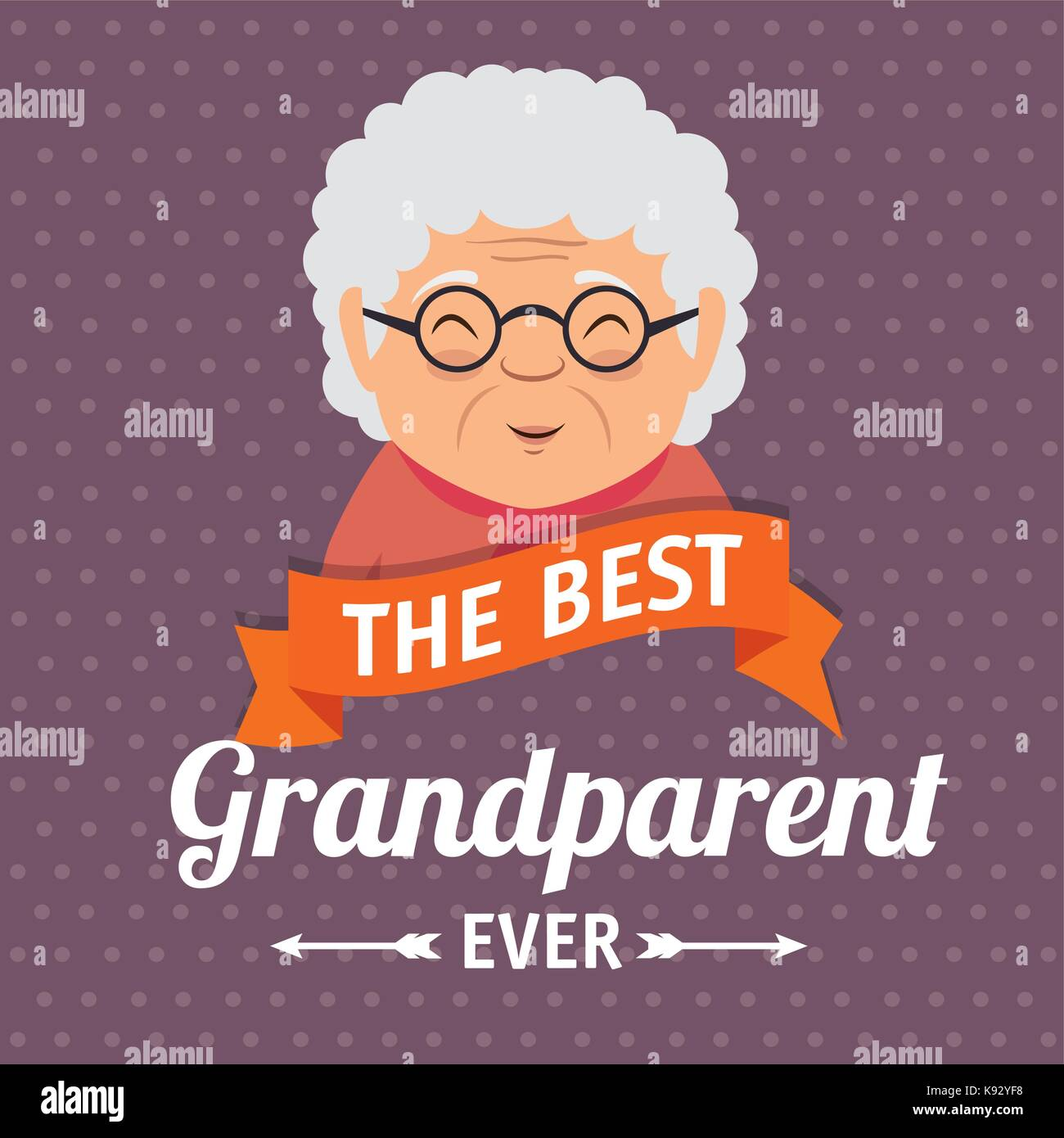 Grandparents day greeting card stock vector art illustration grandparents day greeting card m4hsunfo