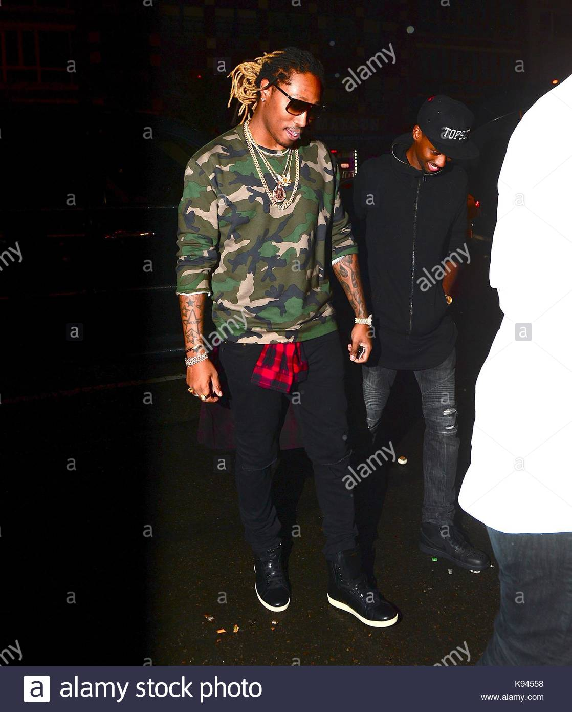 future rapper future was spotted in nyc for the first time since