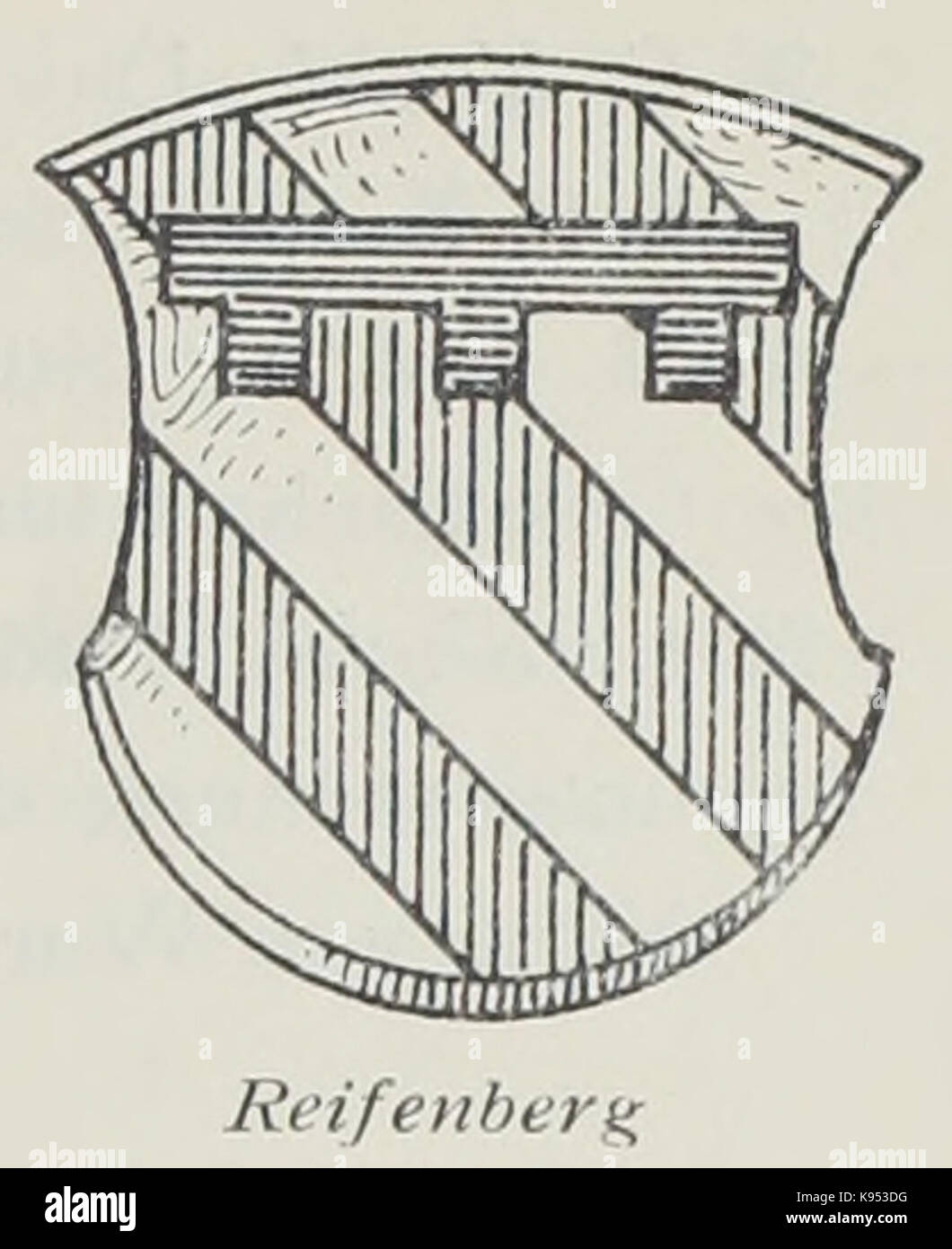 Luthmer II 000h Wappen Reifenberg Stock Photo