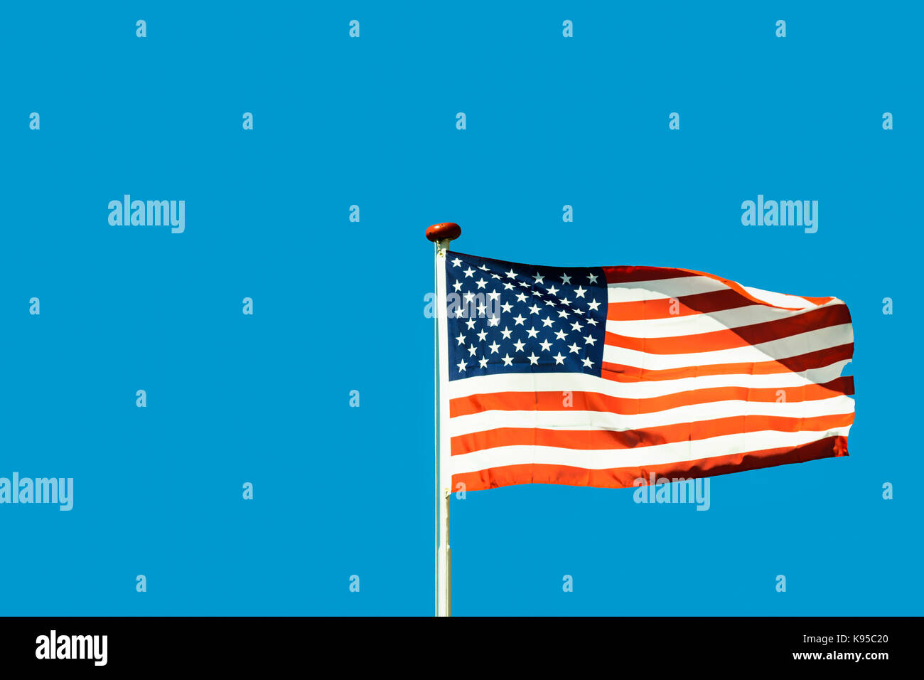 Flag of the United States - Stock Image