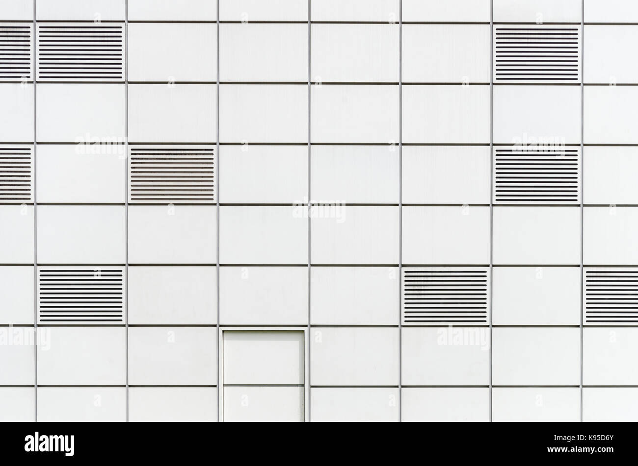 Ultra modern design of the exterior of the Sainsbury Centre For Visual Arts, Norwich, Norfolk, UK - Stock Image