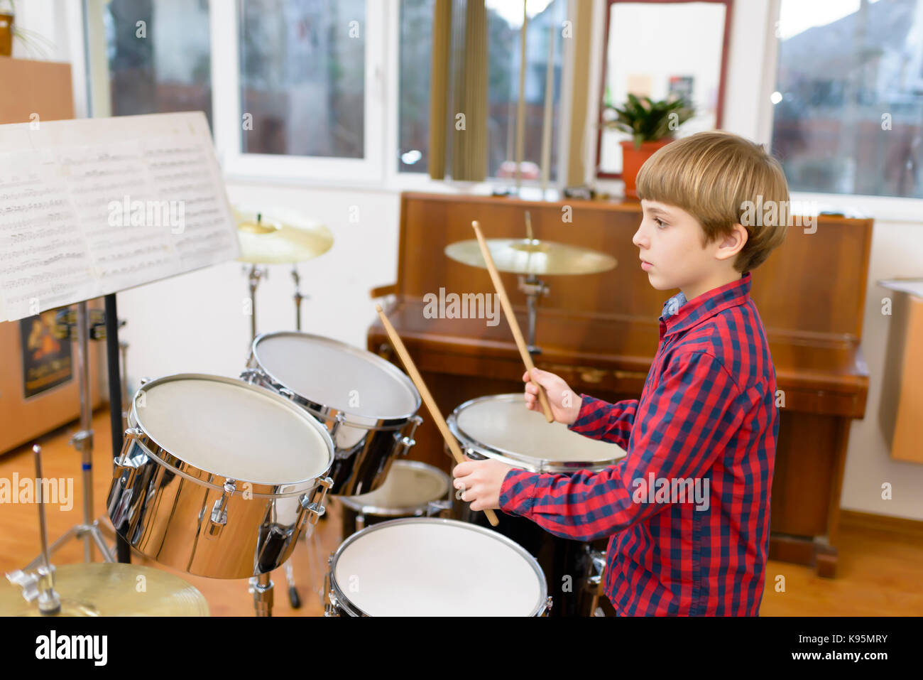 White Room Drums Rock School