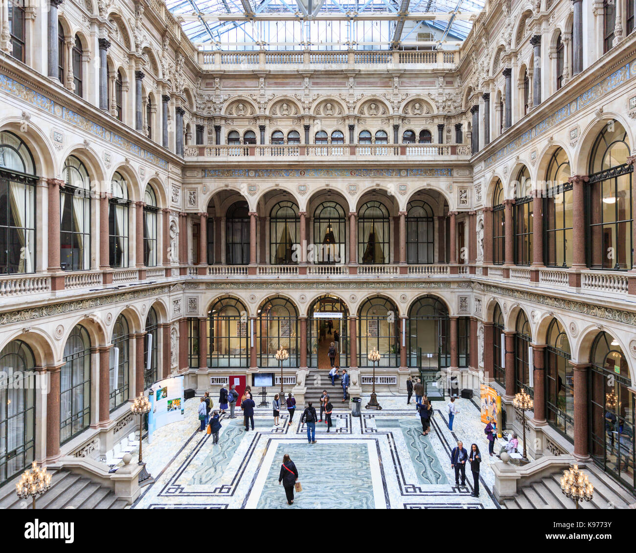 The durbar court at the former india office british foreign and stock photo 160584479 alamy - British foreign commonwealth office ...