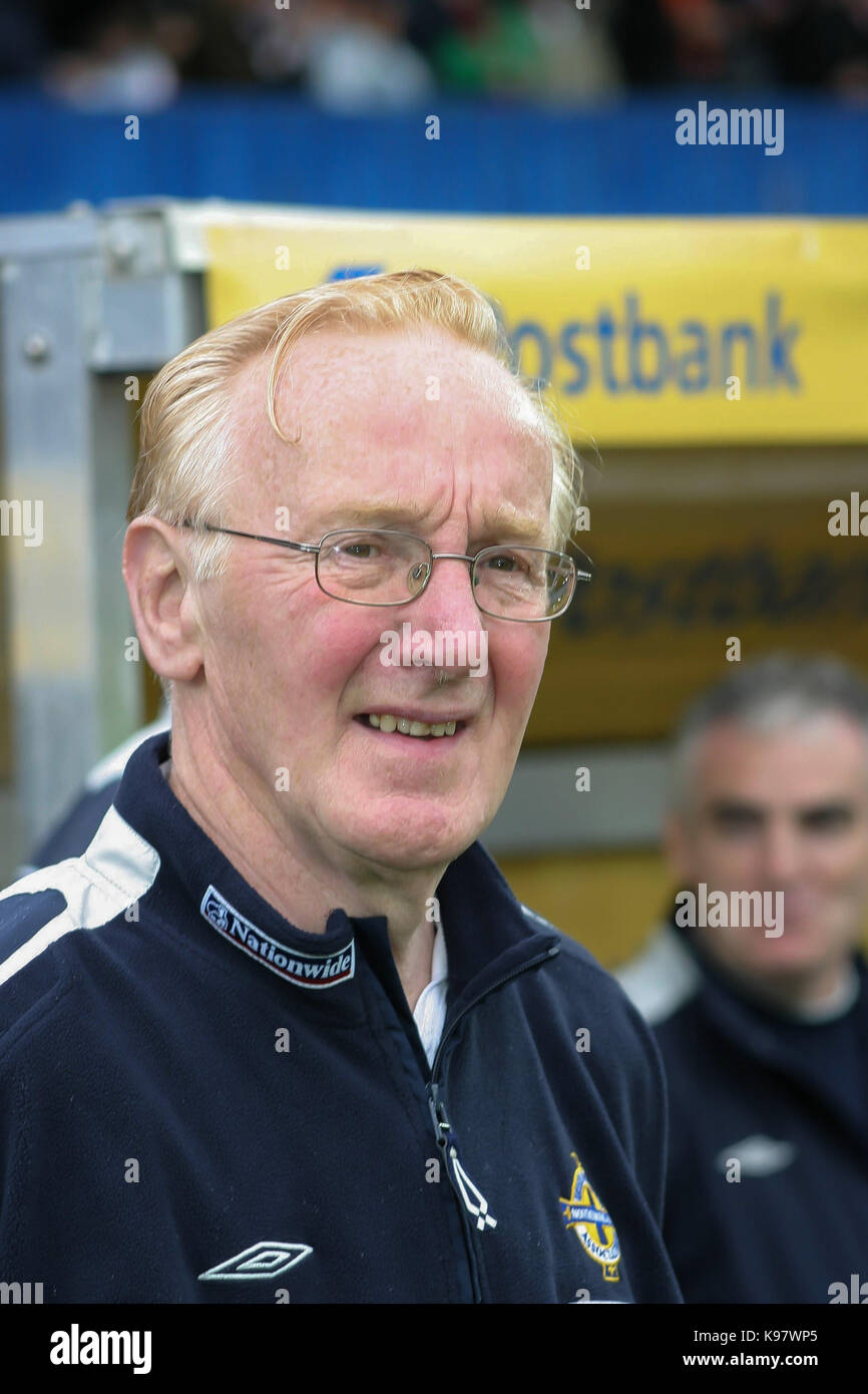 Northern Ireland v Germany at Windsor Park, Belfast on 04 June 2005. Derek McKinley Northern Ireland kit-man. - Stock Image