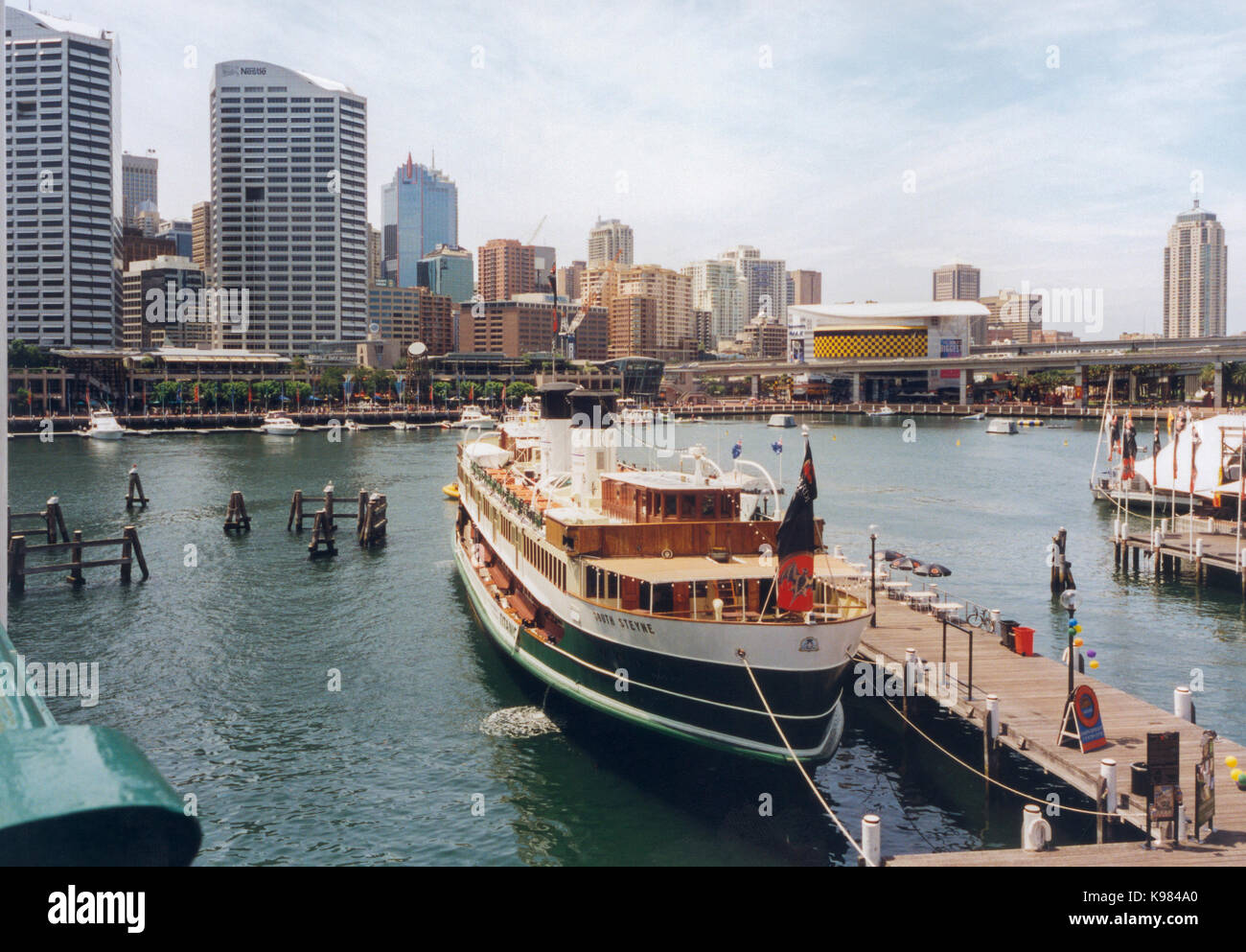 DARLING HARBOUR Sydney 2002 - Stock Image