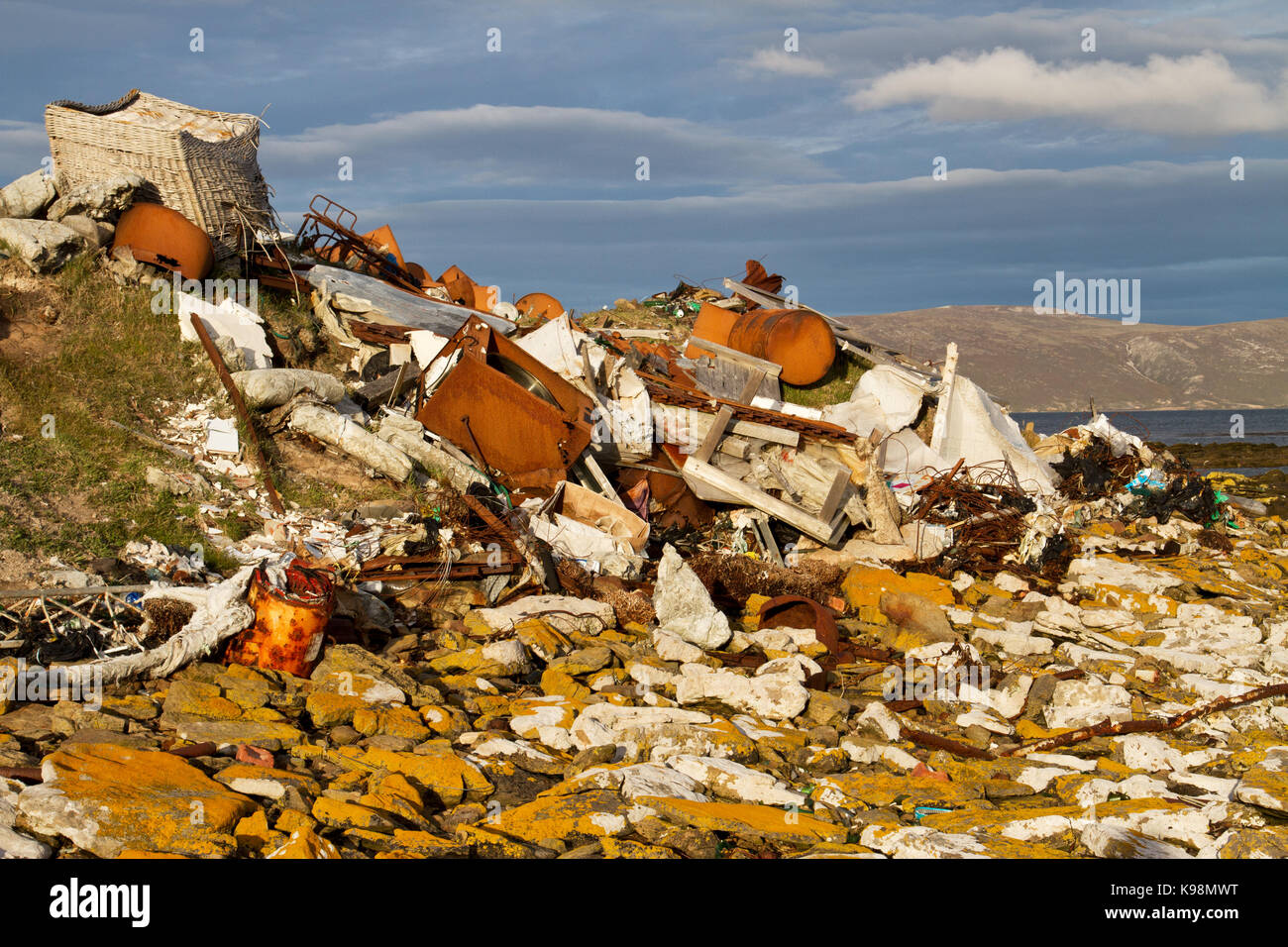 Severe pollution - Stock Image
