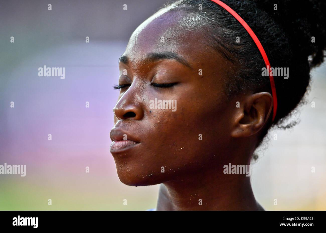 Tianna Bartoletta (USA) -  IAAF Athletics World Championships - London 2017 - Stock Image