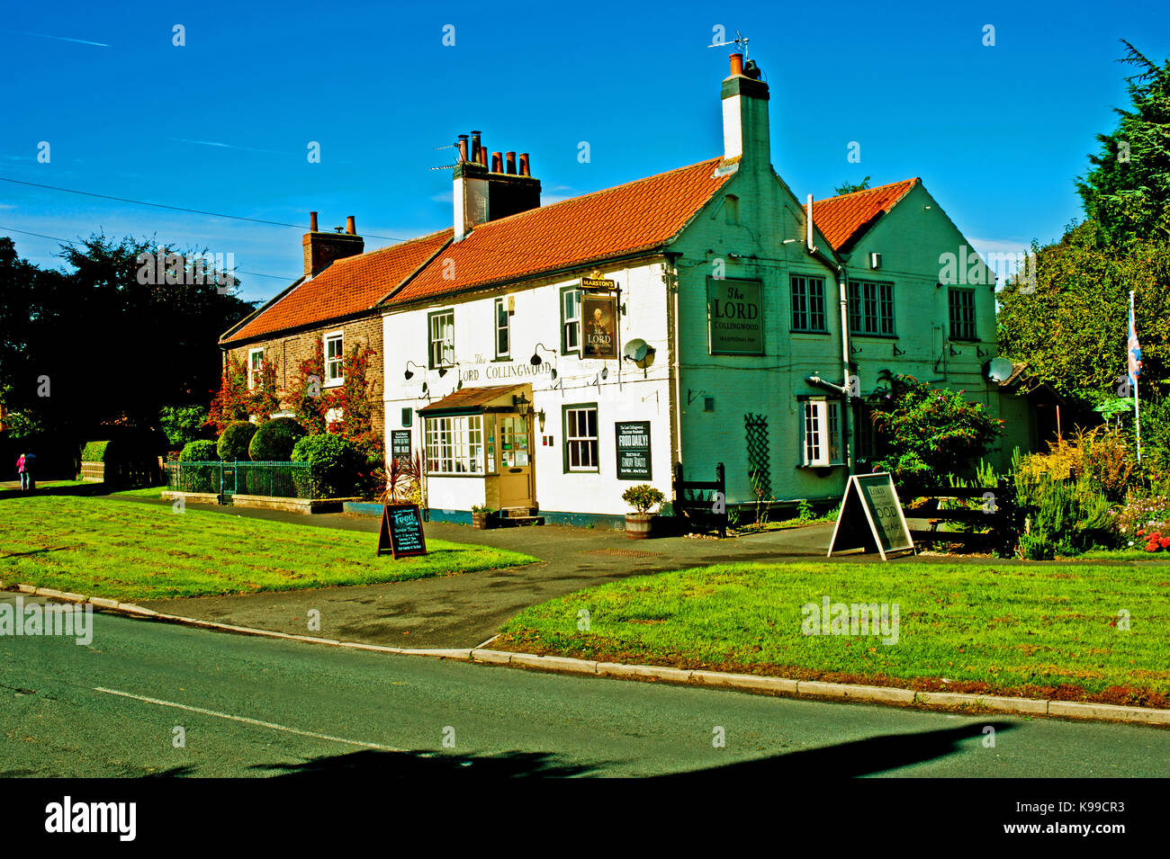 The Lord Collingwood, Upper poppleton, North Yorkshire Stock Photo
