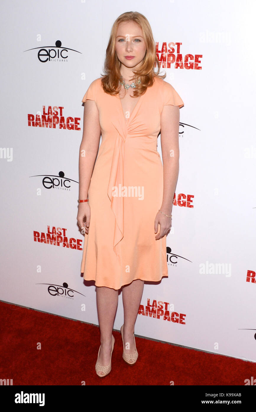 """Hollywood,USA. 21st Sep,2017. Molly Quinn arrives Los Angeles Premiere """"Last Rampage' Arclight Cinemas Hollywood - Stock Image"""