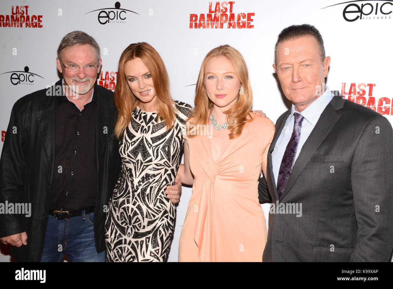 Hollywood,USA. 21st Sep,2017. Dwight Little,Heather Graham,Molly Quinn Robert Partick arrives Los Angeles Premiere Stock Photo