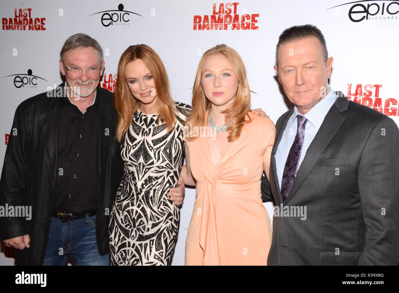 Hollywood,USA. 21st Sep,2017. Dwight Little,Heather Graham,Molly Quinn Robert Partick arrives Los Angeles Premiere - Stock Image