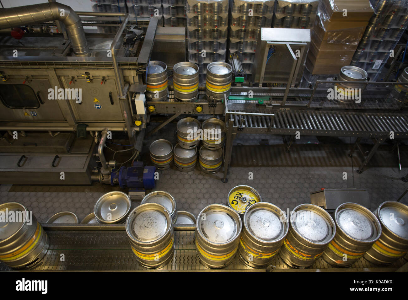 Fullers Brewery, home of London Pride, Chiswick, Greater London, UK - Stock Image