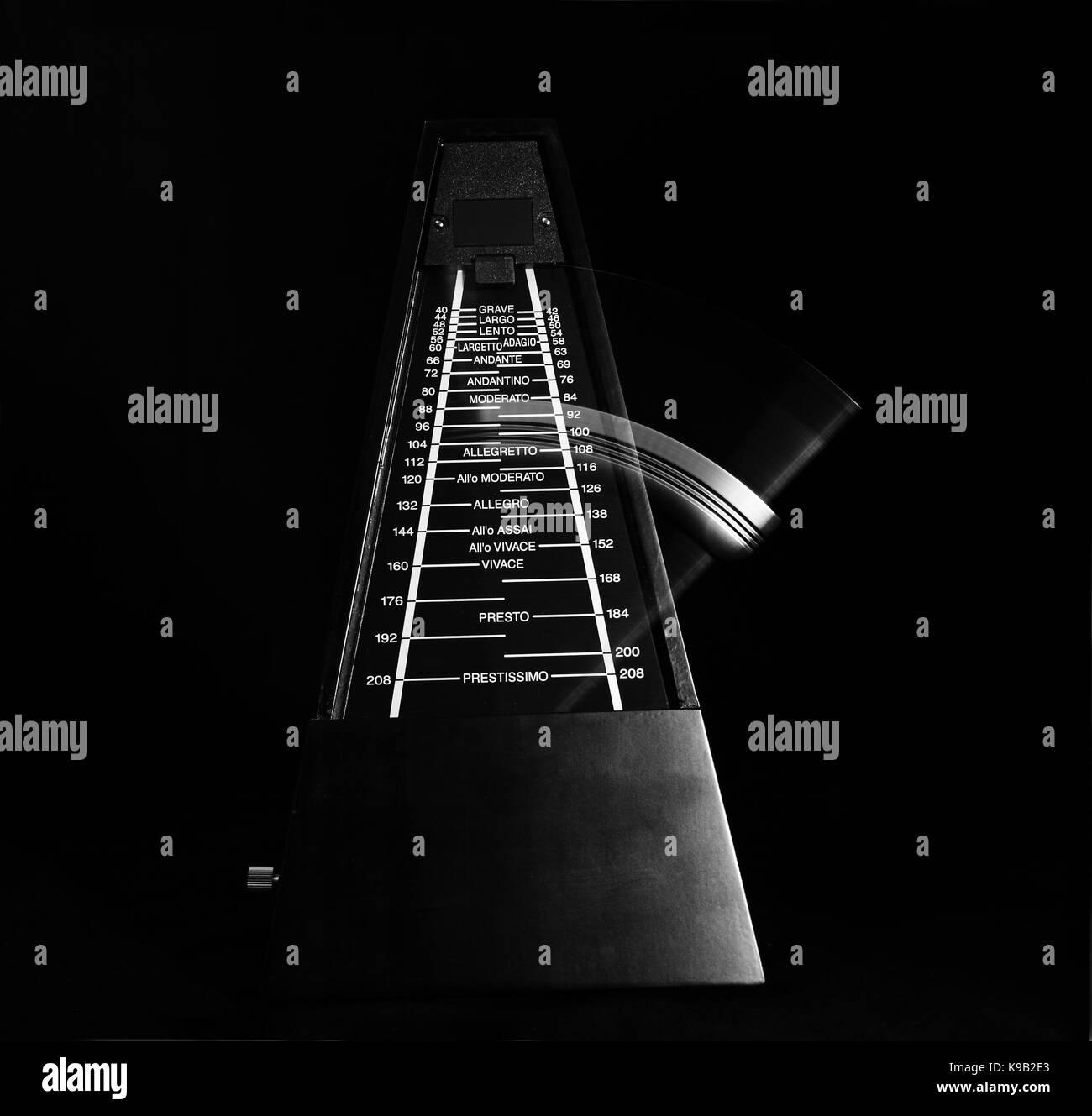 Metronome - Stock Image
