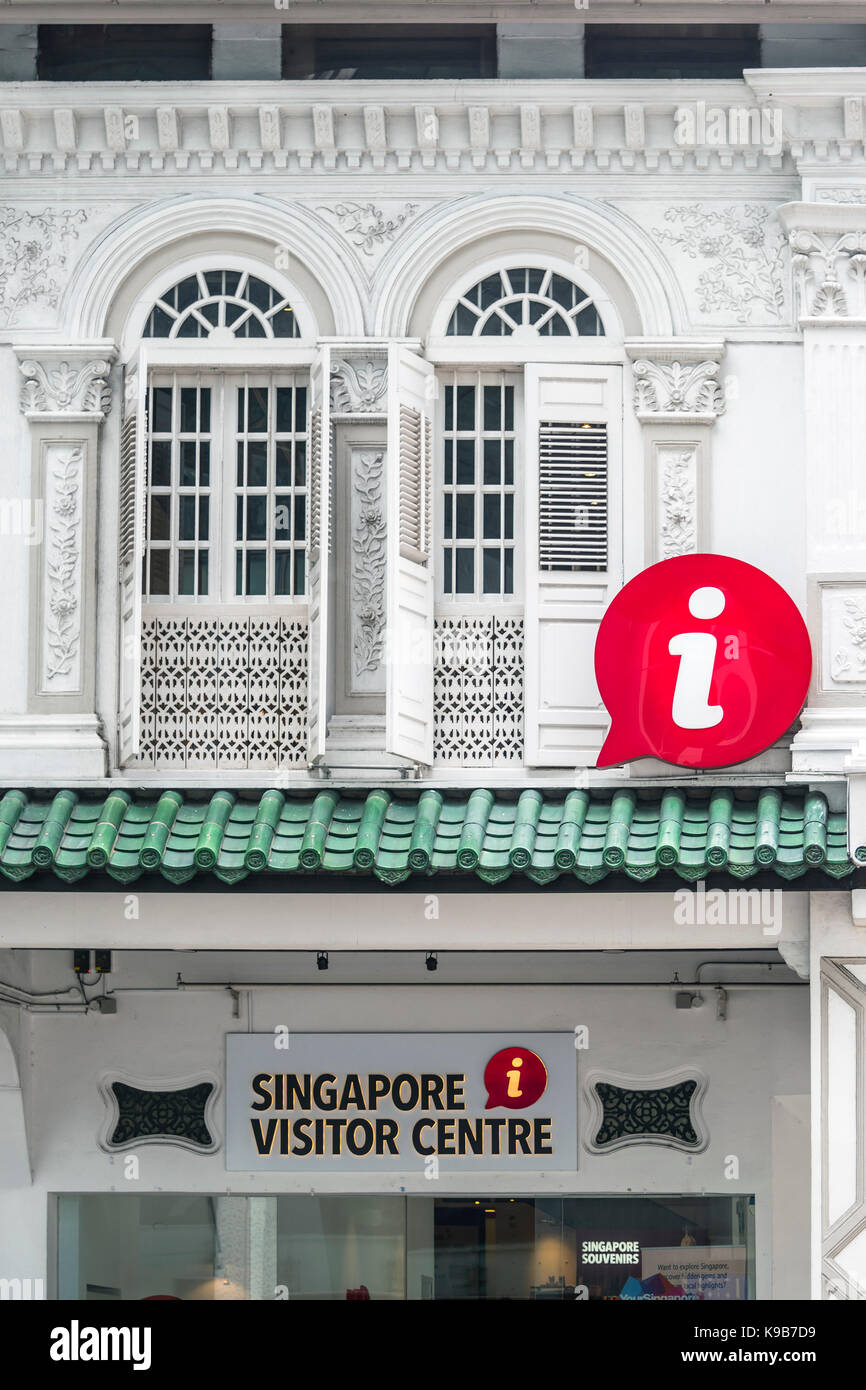 Singapore Visitor Centre, Orchard Road, Singapore - Stock Image