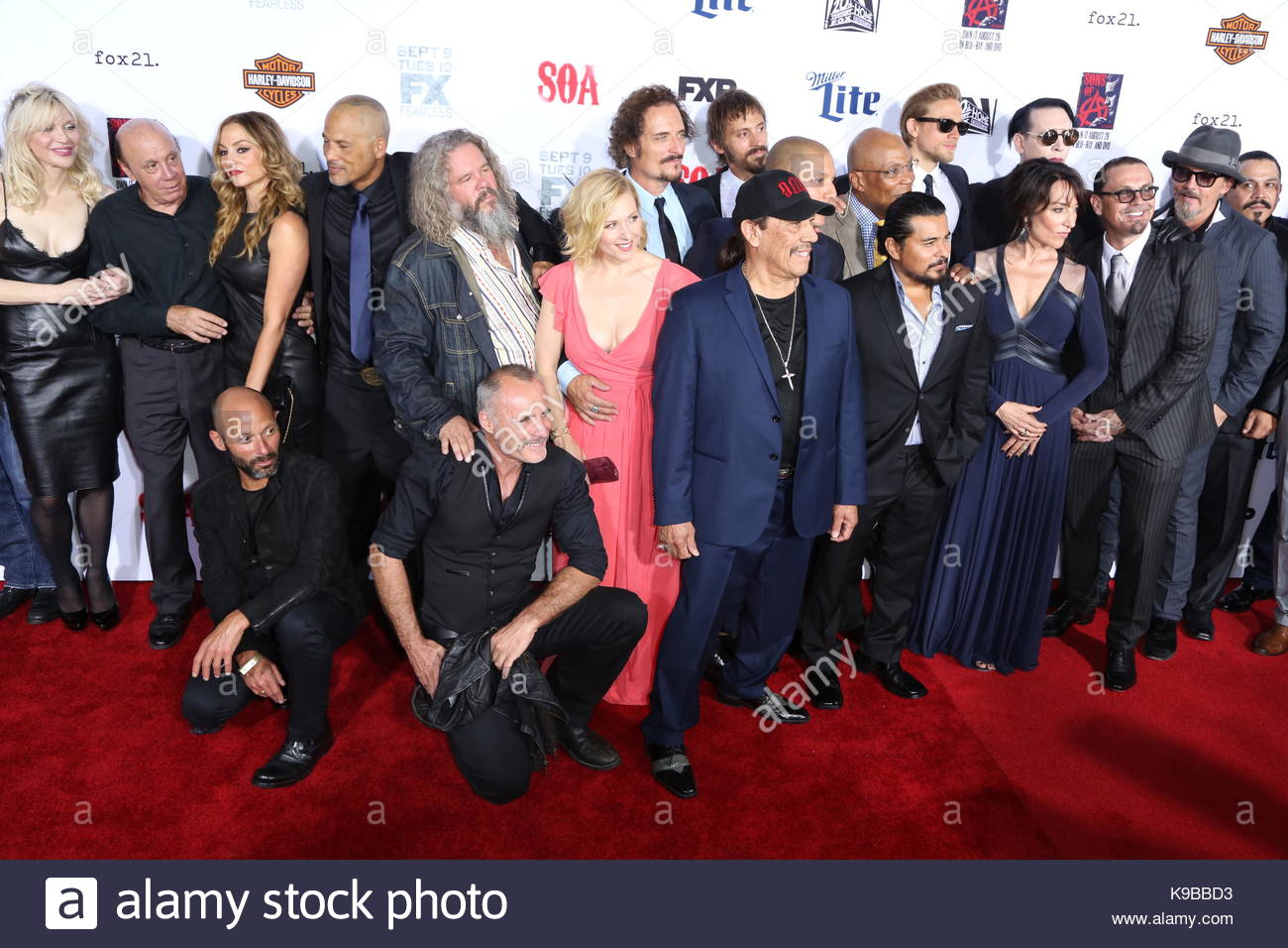 Sons of anarchy stock photos sons of anarchy stock images alamy sons of anarchy cast sons of anarchy final season premiere in hollywood stock kristyandbryce Choice Image