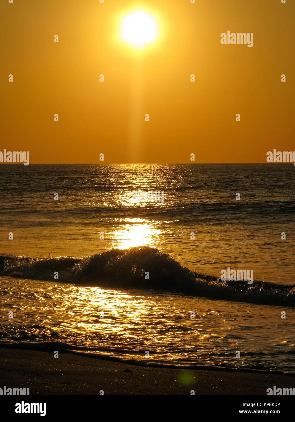 the wave, cabo ledo - Stock Image
