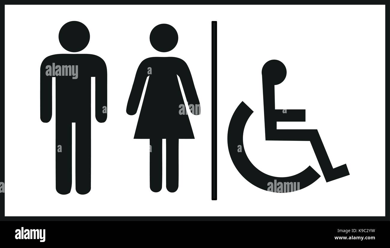 Restroom Signs Stock Photos Amp Restroom Signs Stock Images