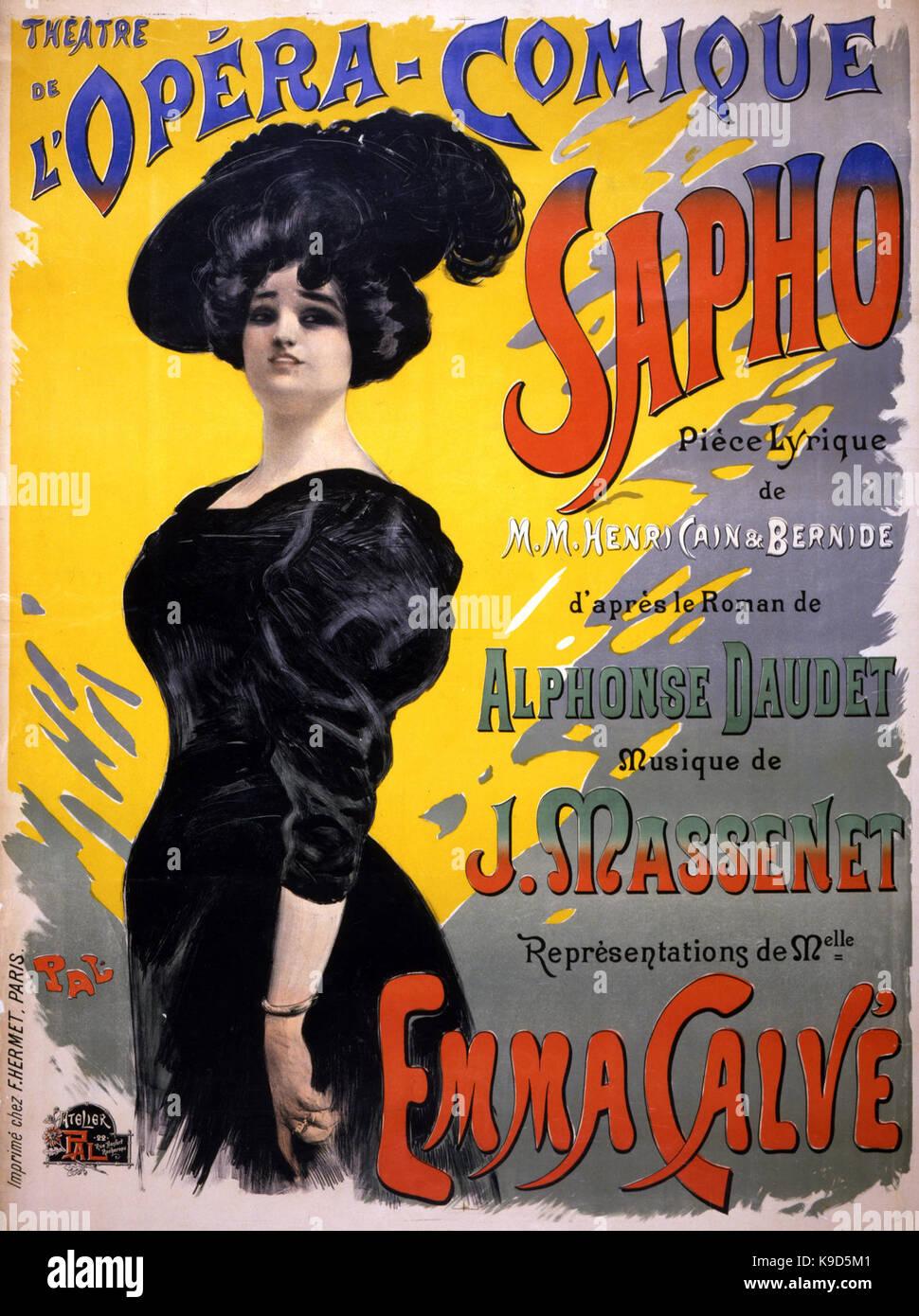 Massenet Sapho - Stock Image